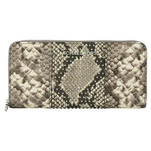 Michael Kors Micro Stud Zip Around Wallet